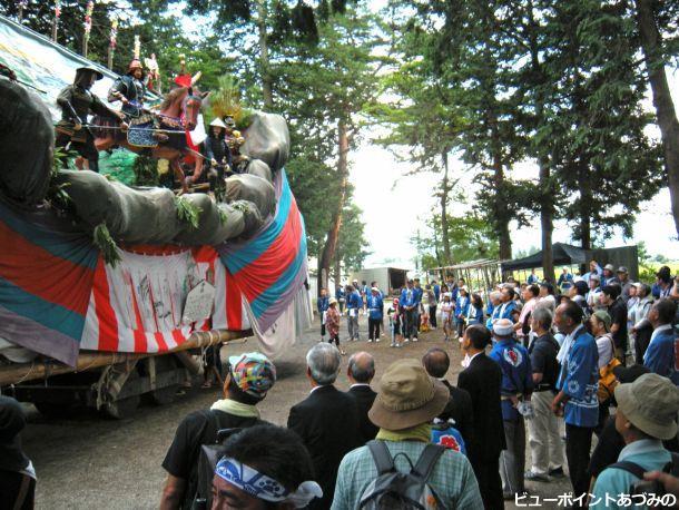 熊野神社の御船祭り