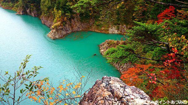 秋の龍神湖