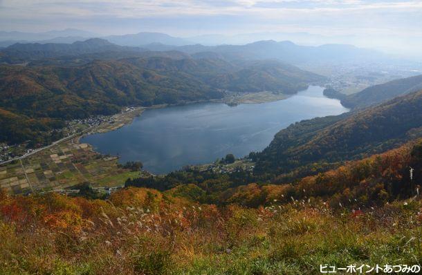 木崎湖展望