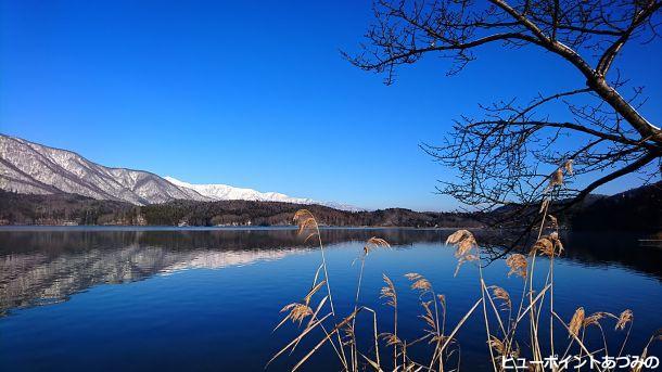 青木湖ブルー