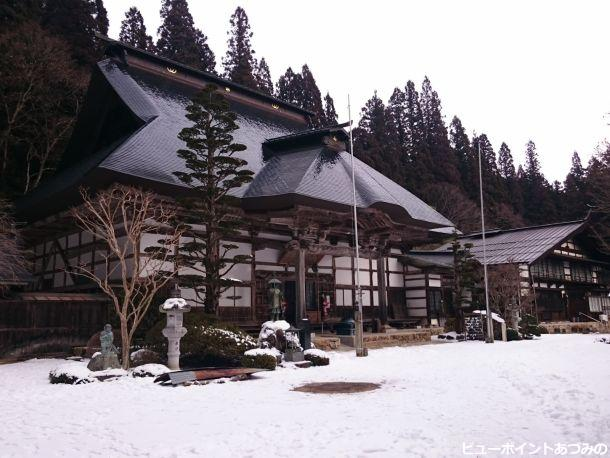 雪の満願寺