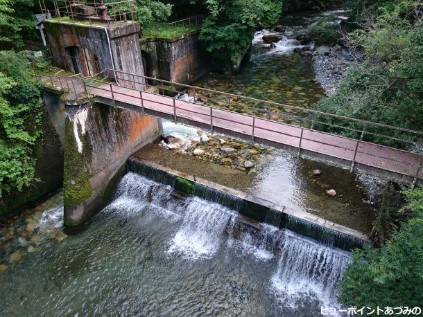 烏川の取水堰