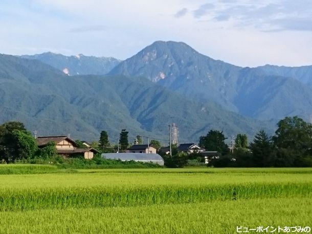 燕岳と有明山