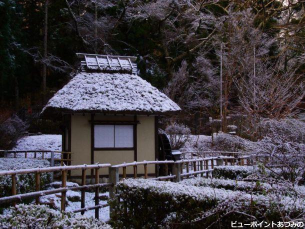 雪の松尾寺