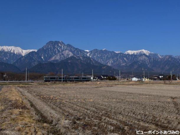 有明富士と大糸線