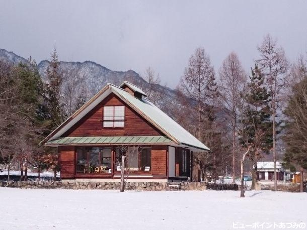 ちひろ山荘の雪景色