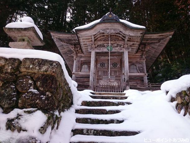 雪の聖天堂