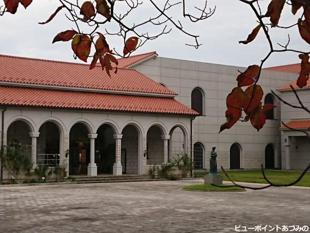 秋色の近代美術館