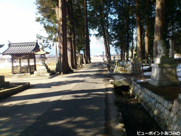 穂高柏原の日吉神社