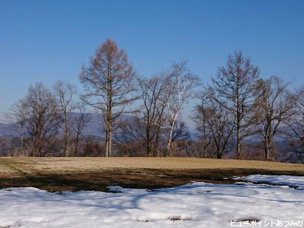 春を待つ大峰高原
