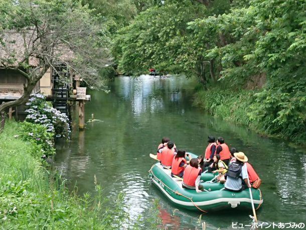 蓼川水上散歩