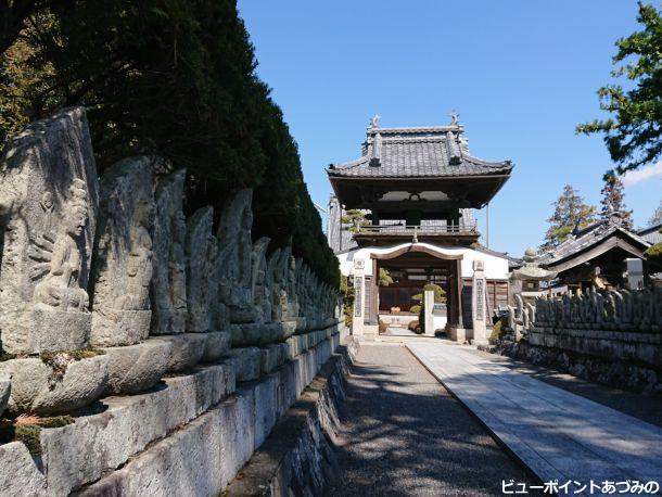 金龍寺の百体観音