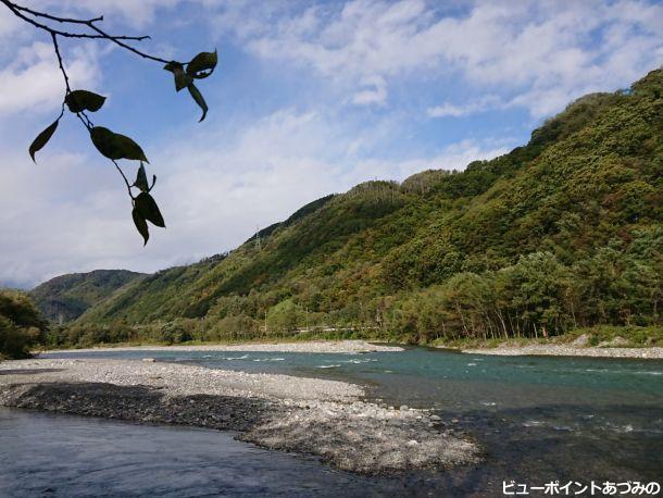 犀川の渡し跡