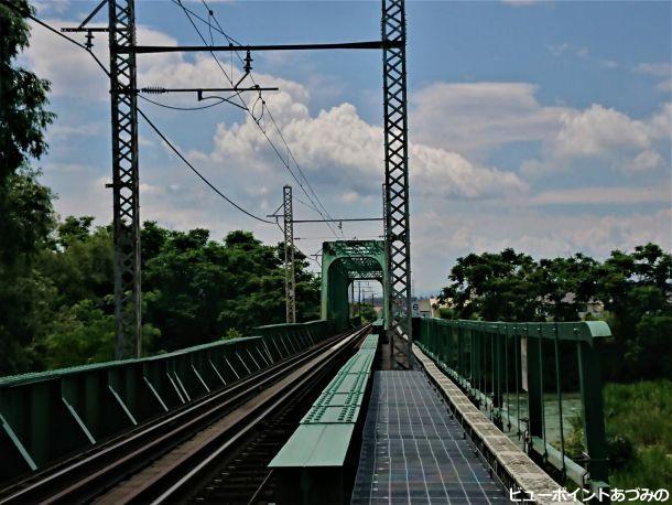 英国製のトラス橋