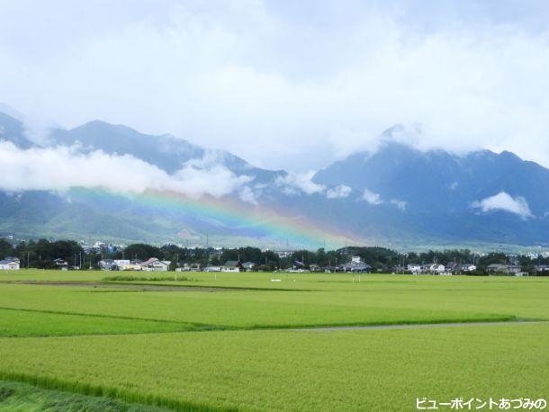 虹の安曇野