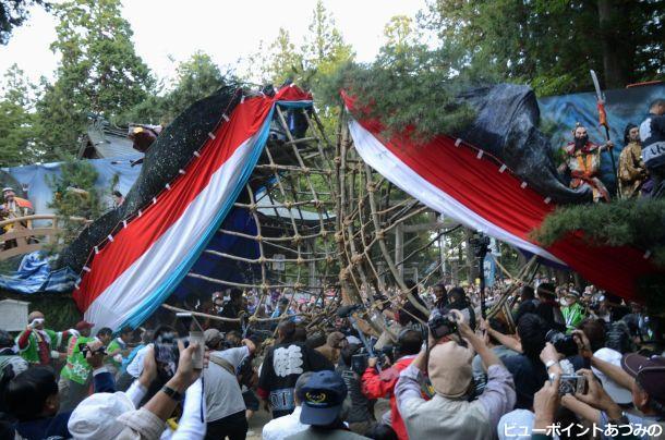 穂高神社の御船祭り