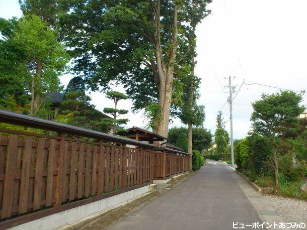 通学路の小路